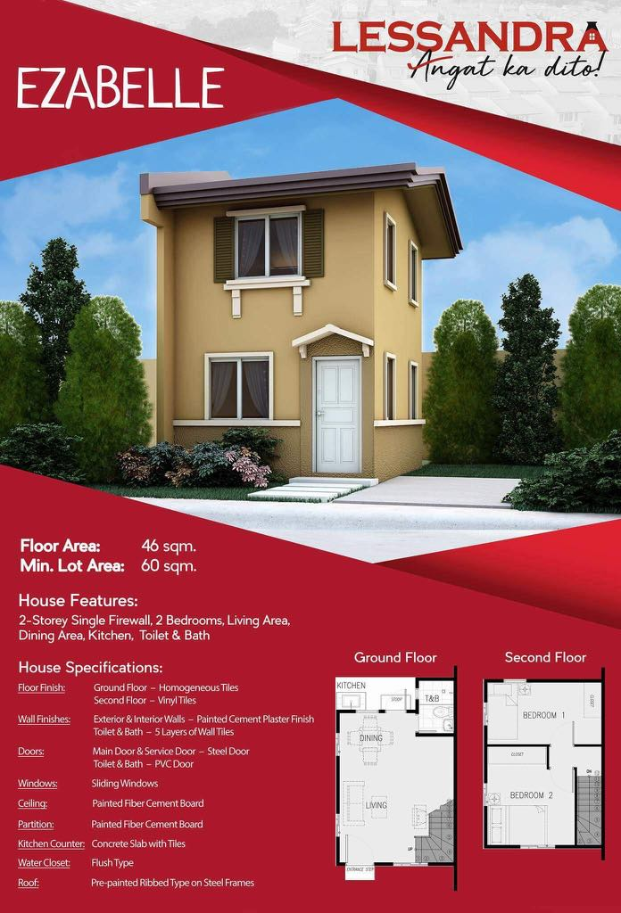 Ezabelle Specification And Floor Plan